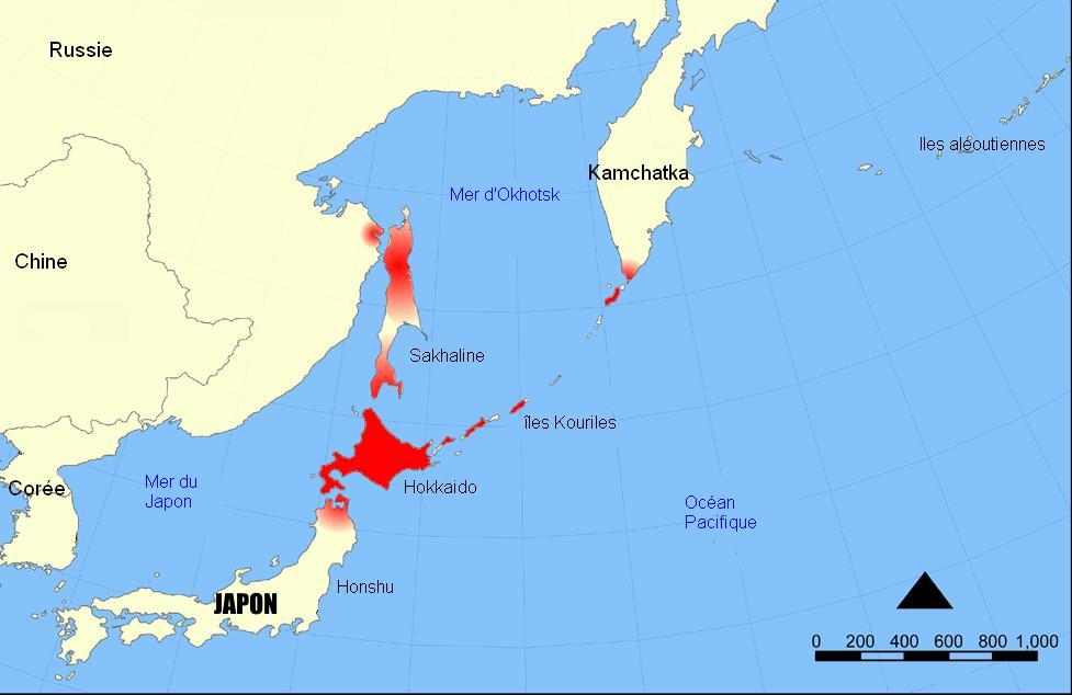 Японцы – не коренные жители Японии