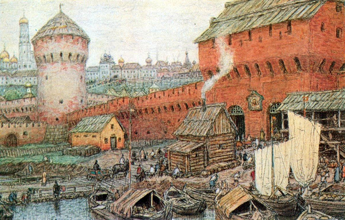 Древняя москва фото