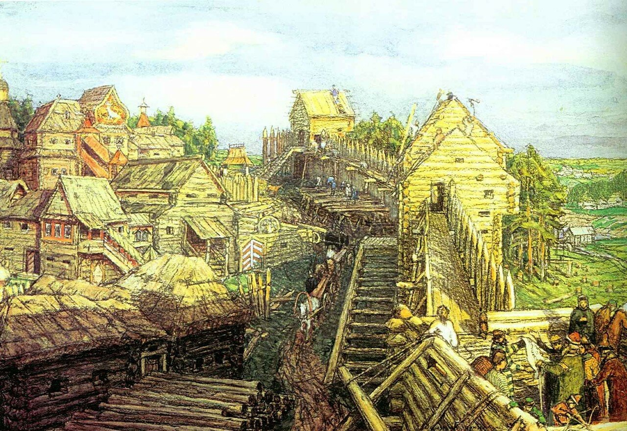 Строительство новых стен. 12 век.jpg