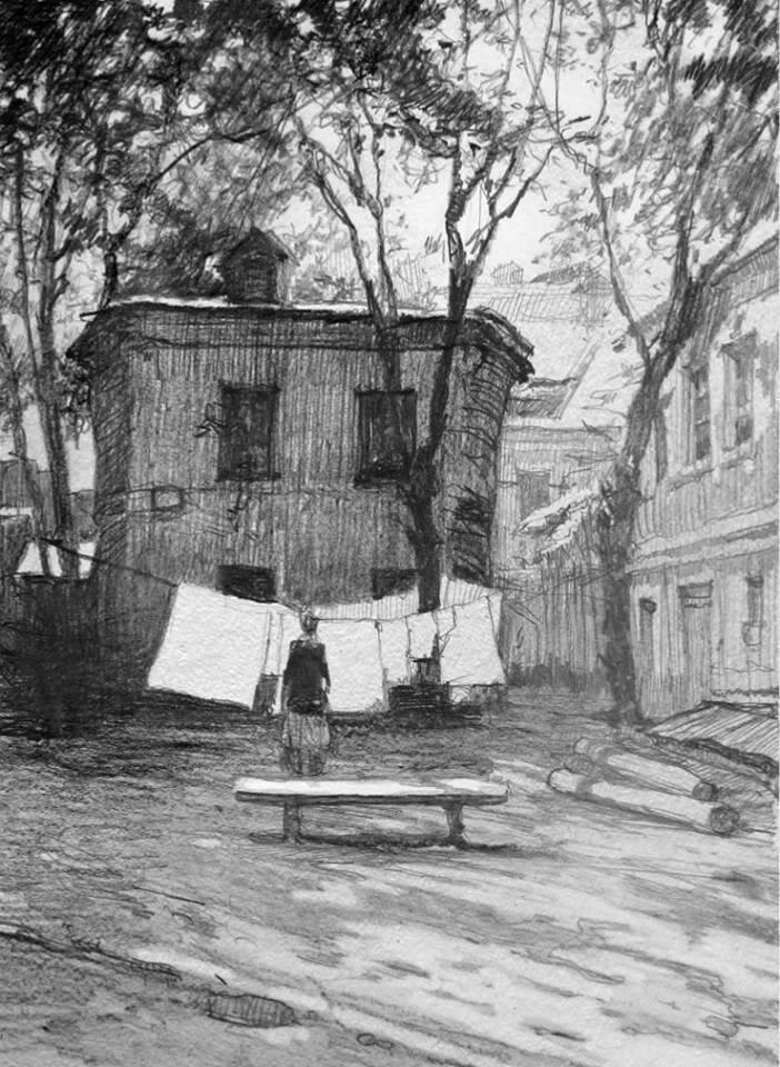Иллюстрации Кирилла Челушкина к книге Король с Арбата В. Чачина4.jpg