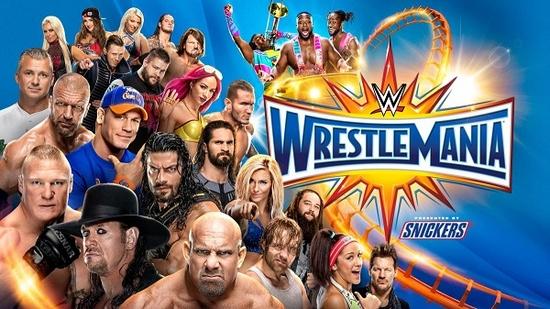 Post image of WWE WrestleMania 33
