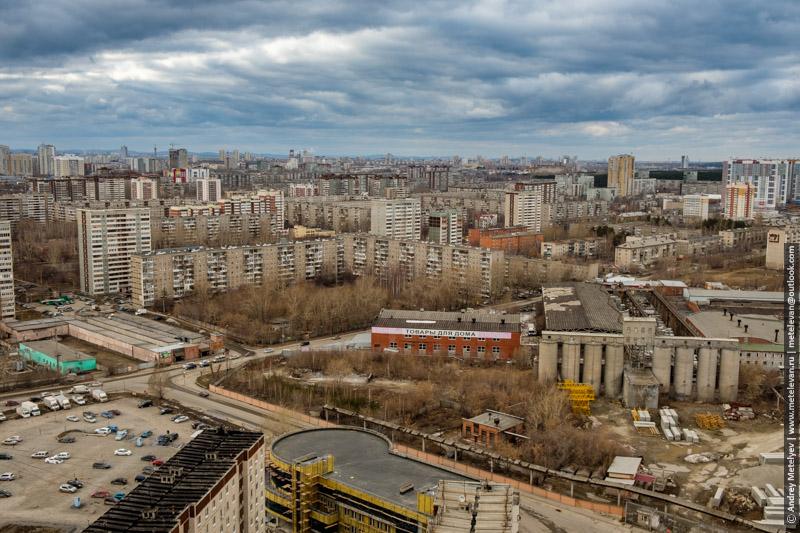 трагичное небо над Екатеринбургским районом ЖБИ