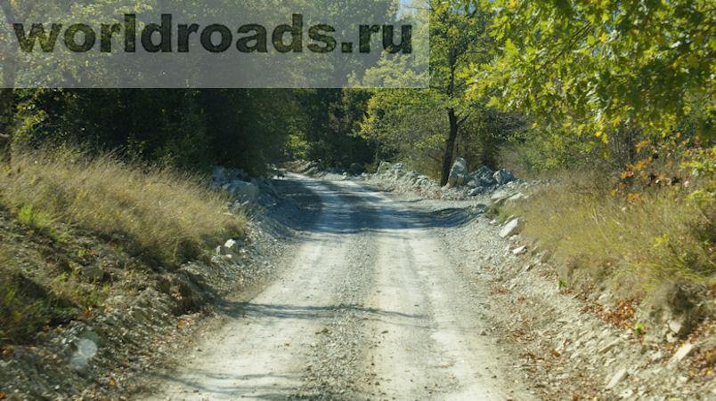 Дорога к Цегельскому водопаду