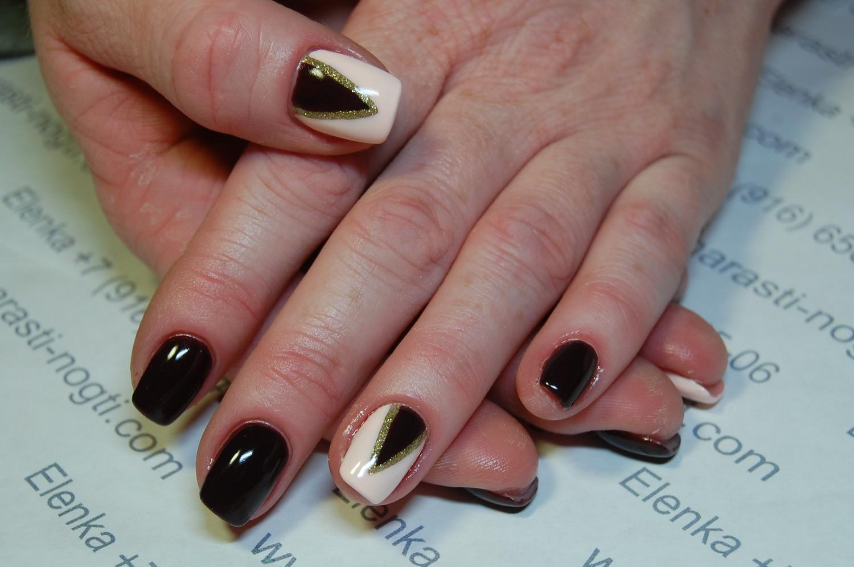 Дизайн ногтей для укрепления