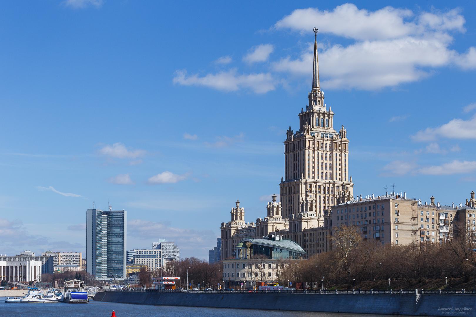 Москва, гостиница «Украина», 2017