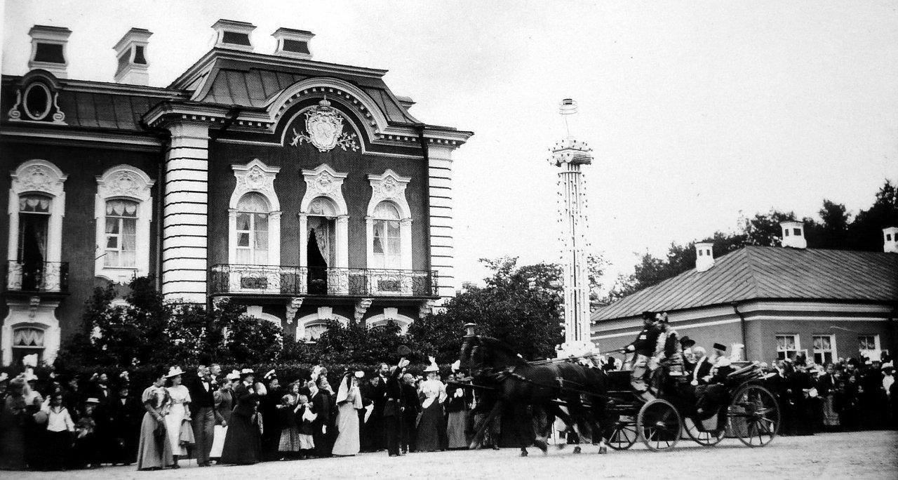 1897. Президент Фор в Петергофе