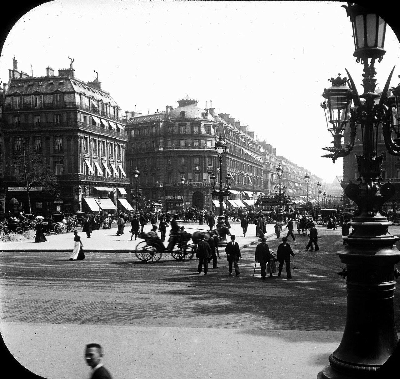 Авеню Опера. Вид от здания Оперы