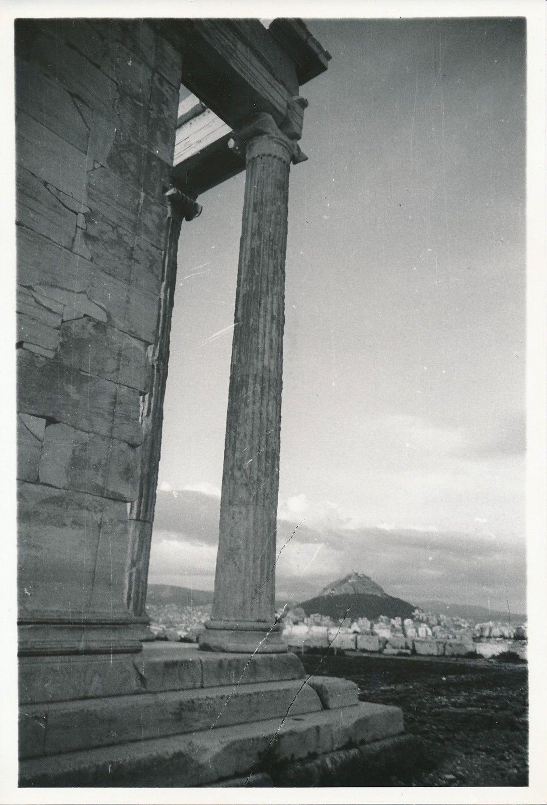 1950. Афины. Акрополь. Храм Эрехтейон