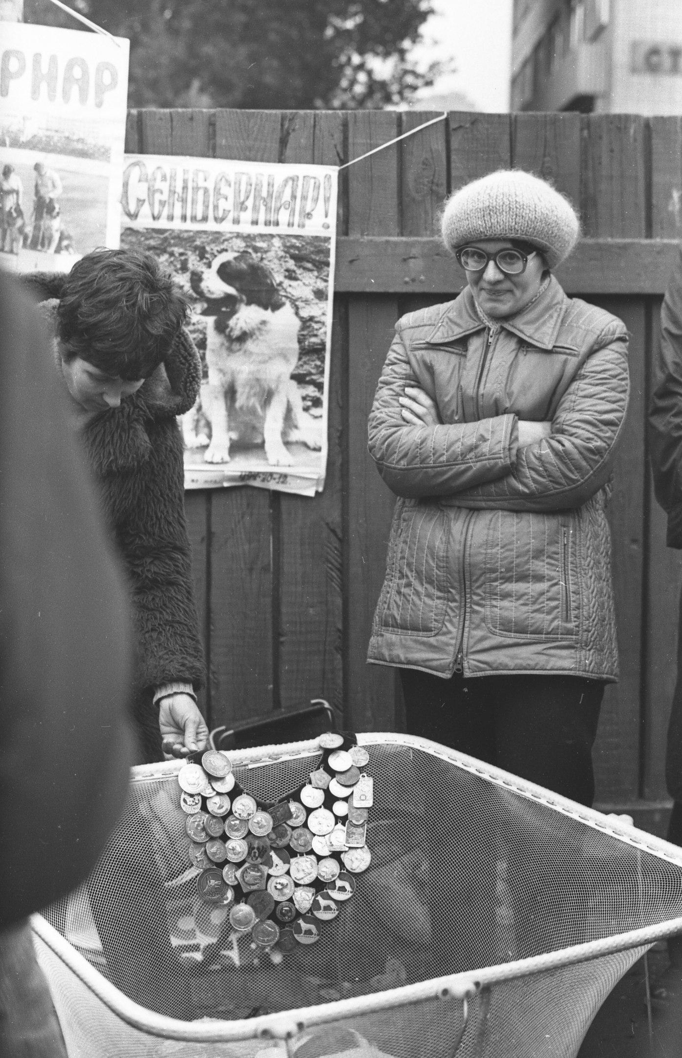 Москва. Калитниковский рынок. Собакопродавцы