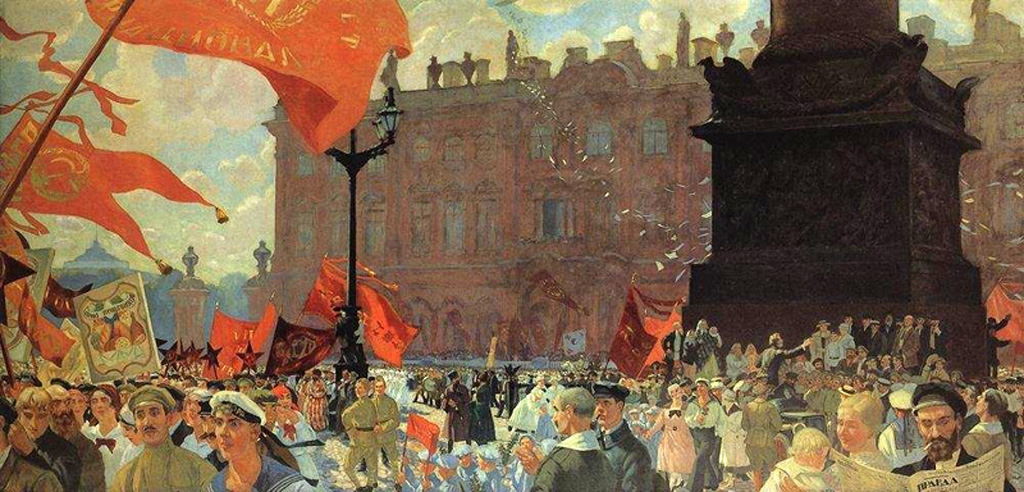 Борис Кустодиев. 1921 год.  (Русский Первомай).jpg