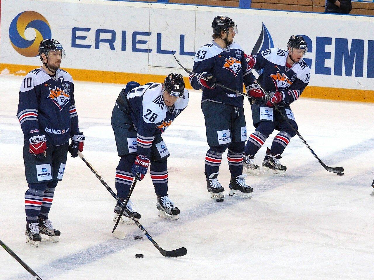 26 Первая игра финала плей-офф восточной конференции 2017 Металлург - АкБарс 24.03.2017