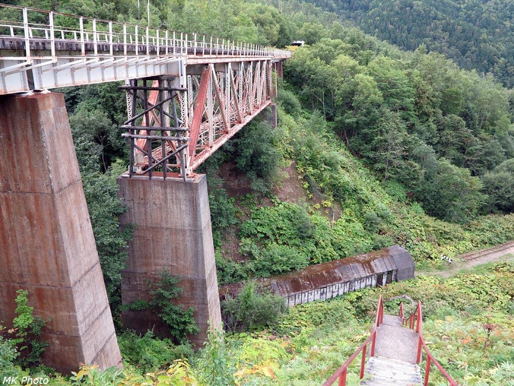 Чёртов мост над противоснежной галереей