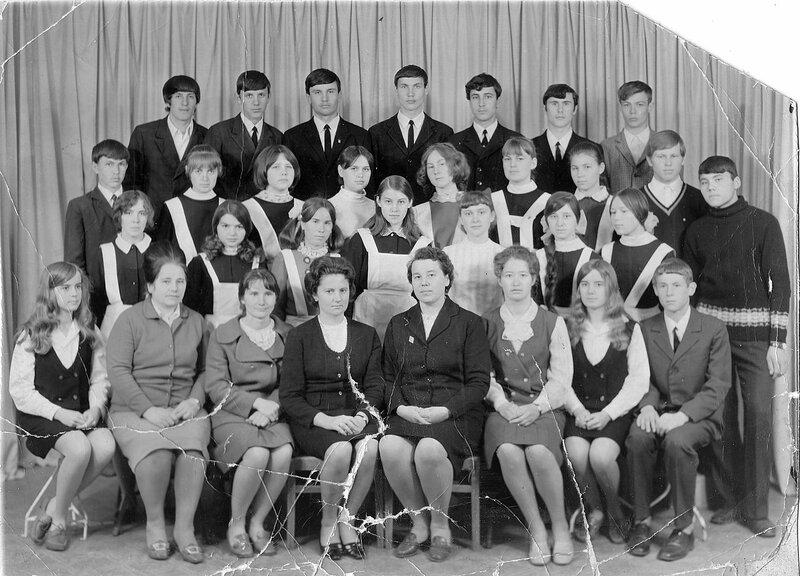 Славгород, школа №13 1970 год.
