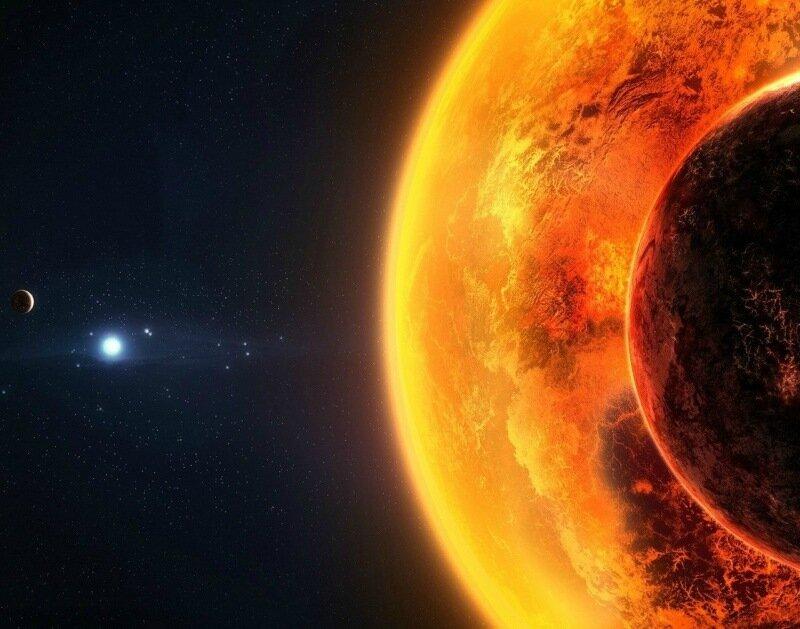 Самая большая звезда во Вселенной