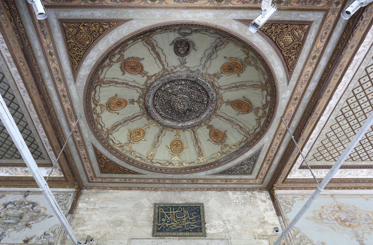 Istanbul, Topkapi Palace. Welcome gate (Babu's-selâm)