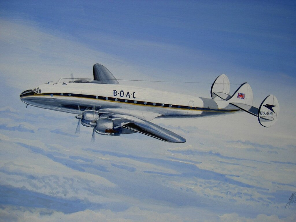 Constellation of BOAC.