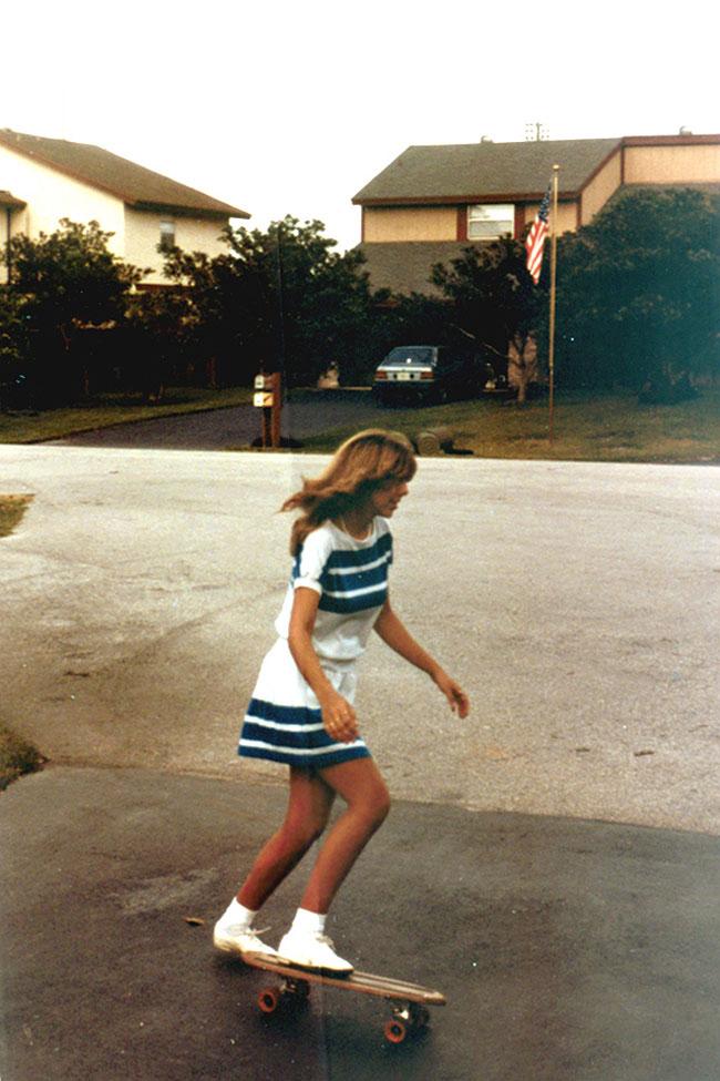 Веселые и юные американки 80-х (20 фото)