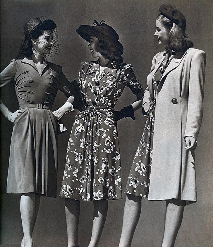 17. В этот период внешний вид нарядов значительно упростился до минимализма во всем. Натуральные тка