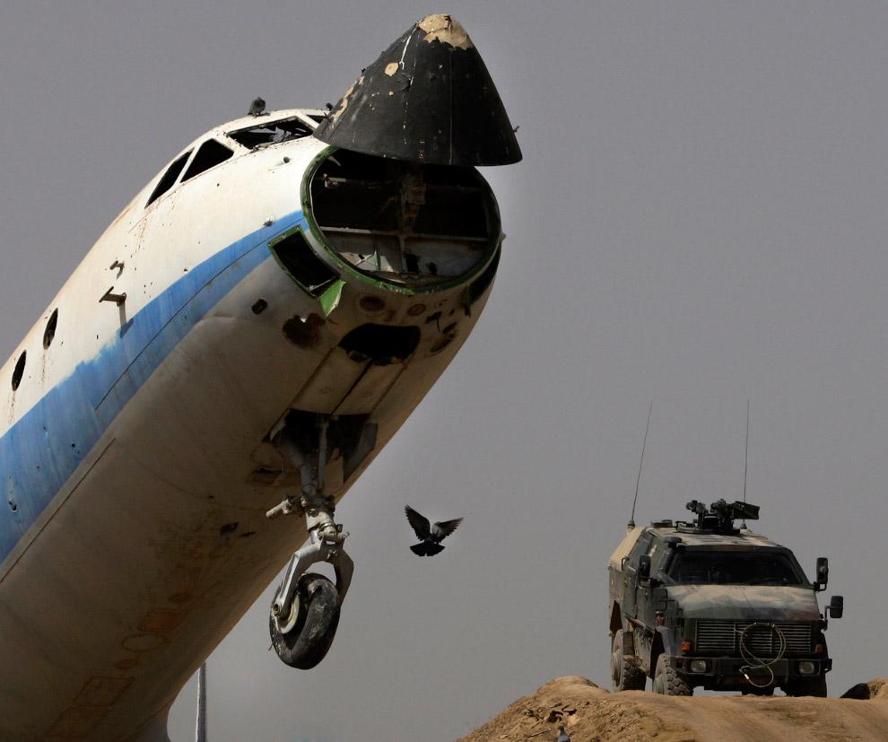 Патрульный в Марджахе, провинция Гильменд, 19 октября 2012. (Фото AP Photo | Anja Niedringhaus)