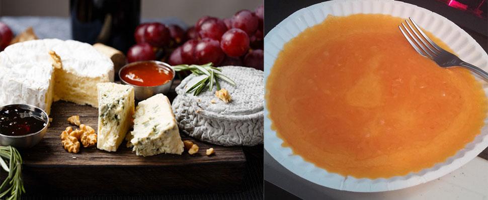 Французская сырная тарелка Отношениям французов с сыром уже много веков, и сыр стал настоящим символ