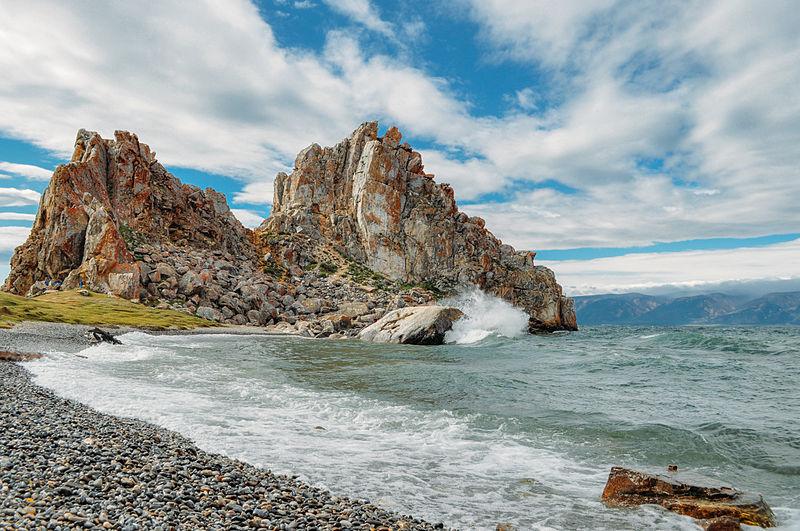 Река Малакатын на острове Большой Ляховский в Якутии. Фотография Бориса Соловьева.