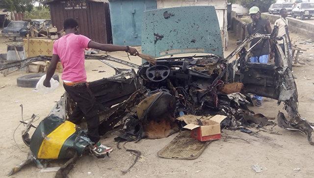 ВНигерии смертницы взорвали себя нарынке, 30 погибших