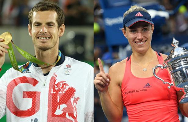 Маррей иКербер названы лучшими теннисистами года