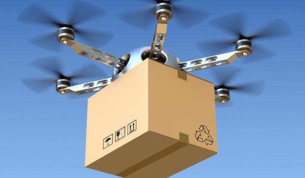 Сберегательный банк начинает использовать дроны для доставки денежных средств клиентам