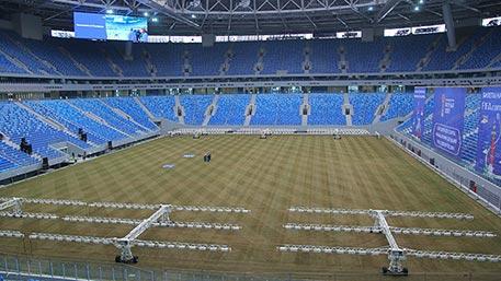 «Газпром» снесет VIP-ложу настадионе «Зенит-Арена»