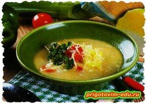 Капустный суп с рисом