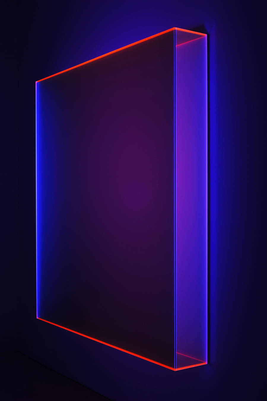 Fluorescent Acrylic Glass Art