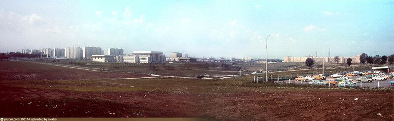 1980 Олимпийская деревня-1980. Панорама.jpg