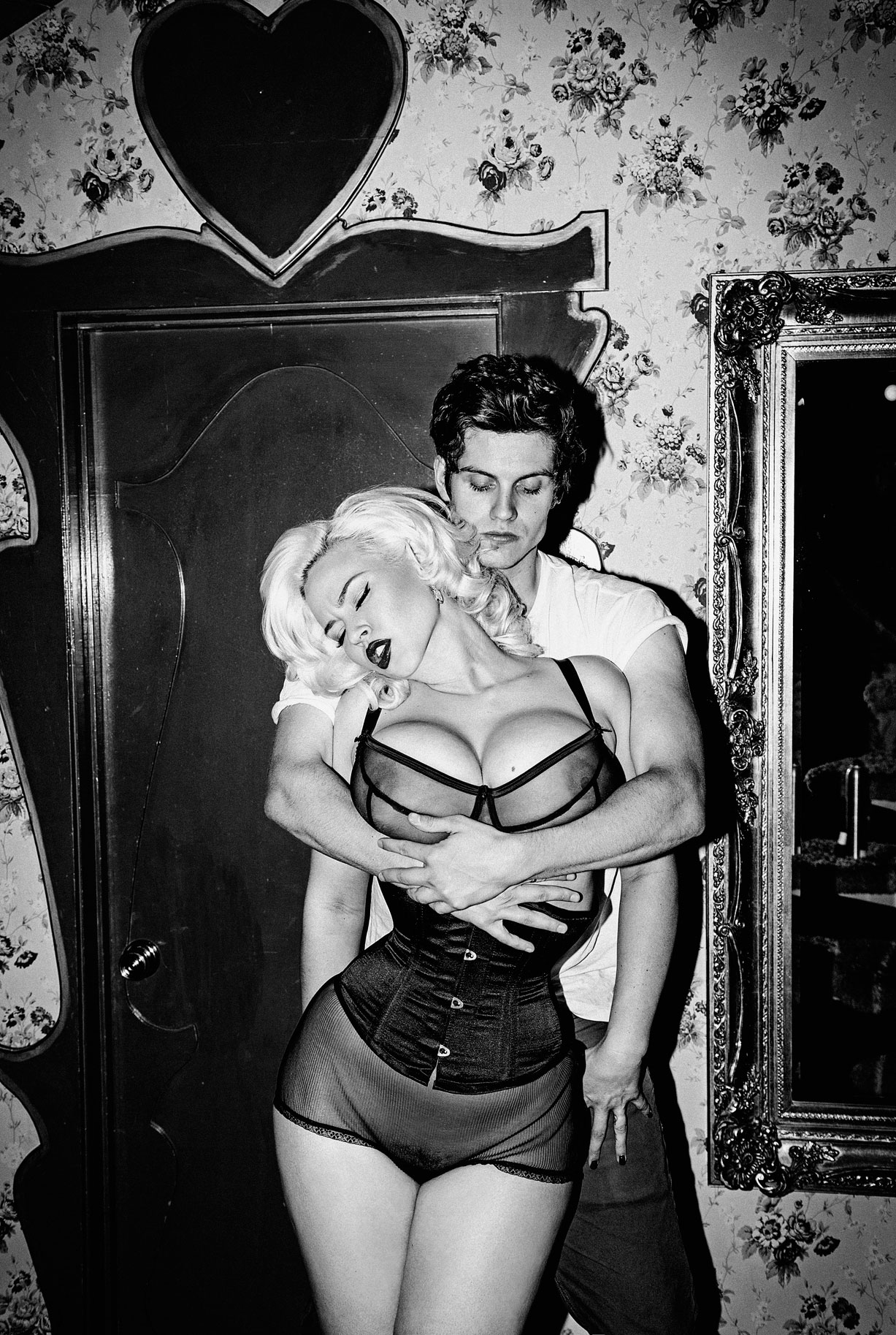 Джиа Женевьив / Gia Genevieve & Daniel Sharman by Jacob DeKa - Galore Magazine