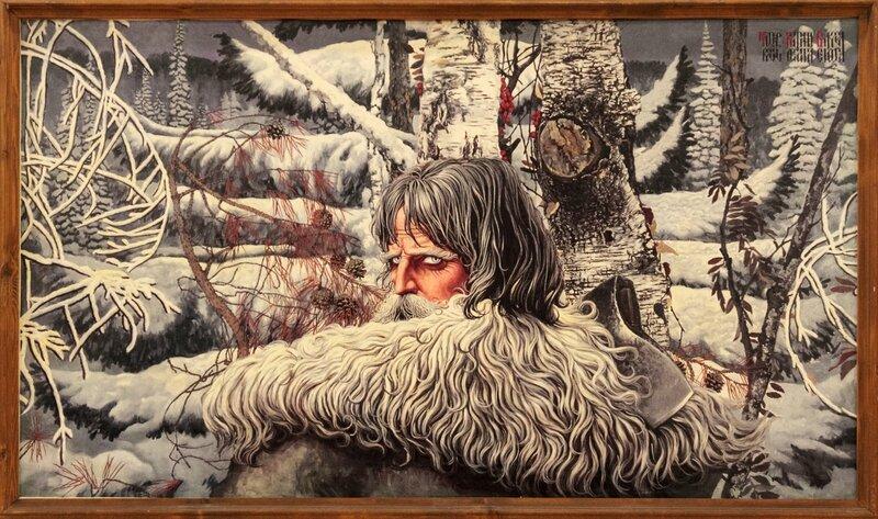 Северный орел, Константин Васильев