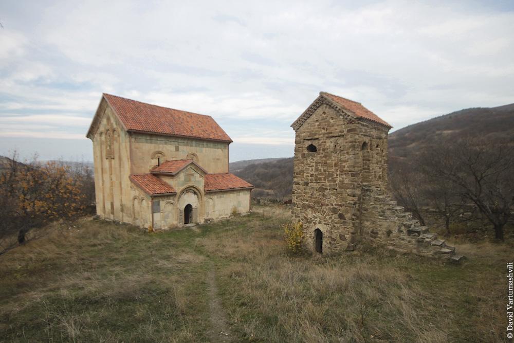 Грузия, Кавчурское ущелье, Магаалант Эклесия