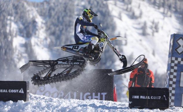 Результаты X-Games Snow BikeCross (+видео)
