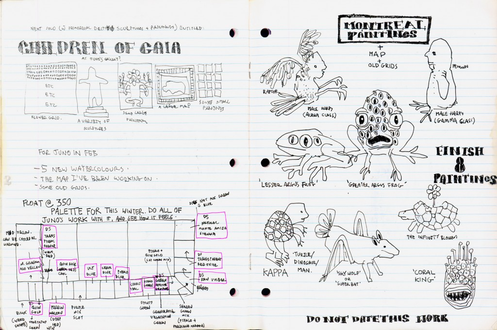 EK Sketchbook: Nicholas Di Genova