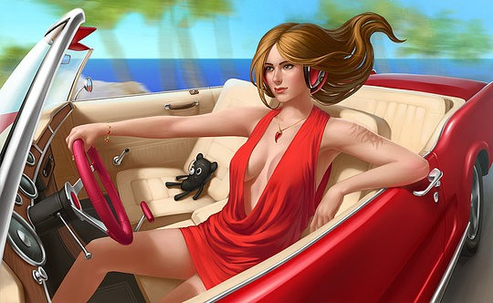 Hot Digital Illustrations by Dmitry Grebenkov