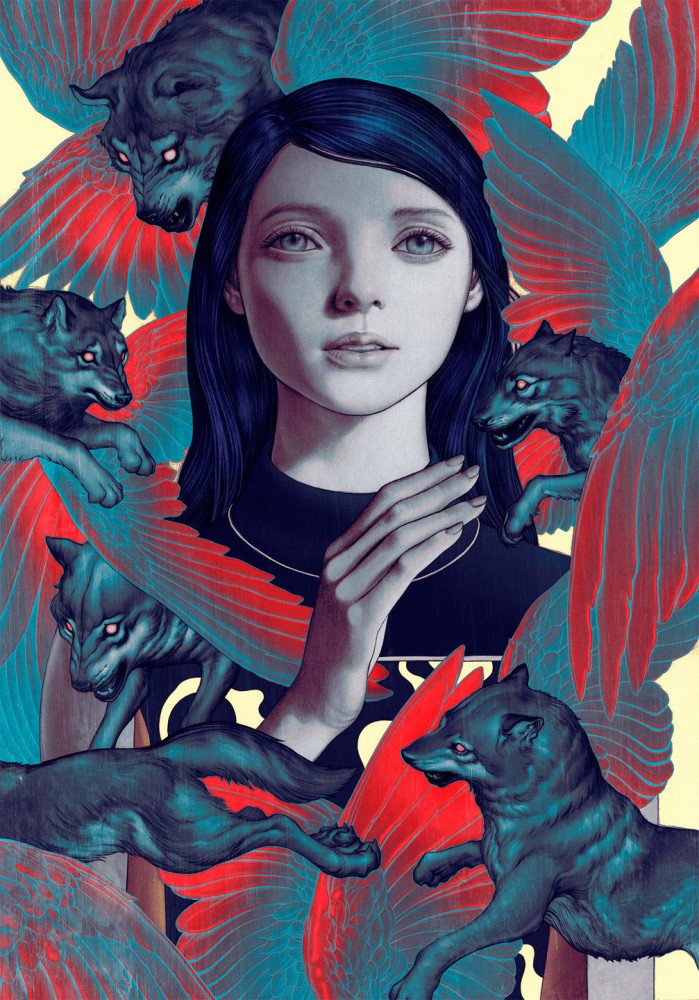 New Mixed Media Artworks by James Jean