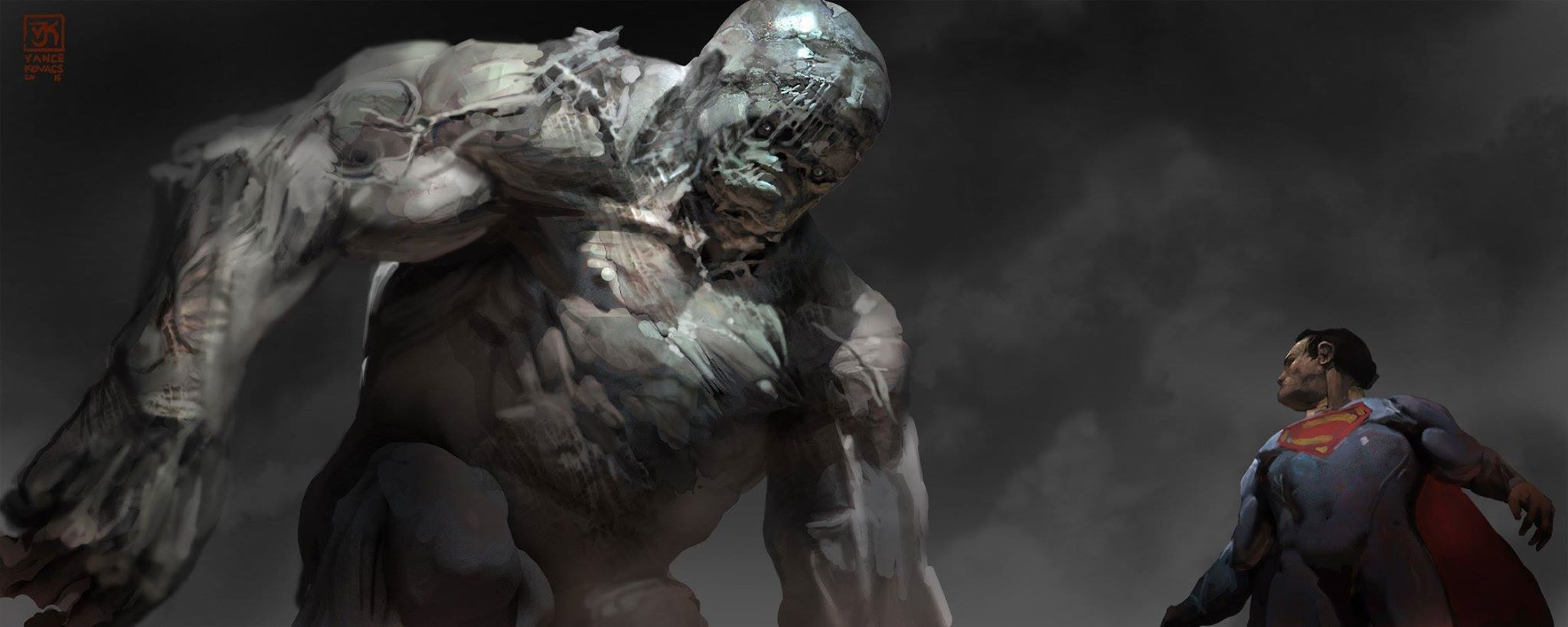 Batman v Superman: Dawn of Justice Concept Art by Vance Kovacs