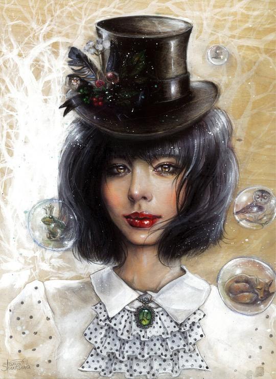 Traditional Illustrations by Tanya Shatseva