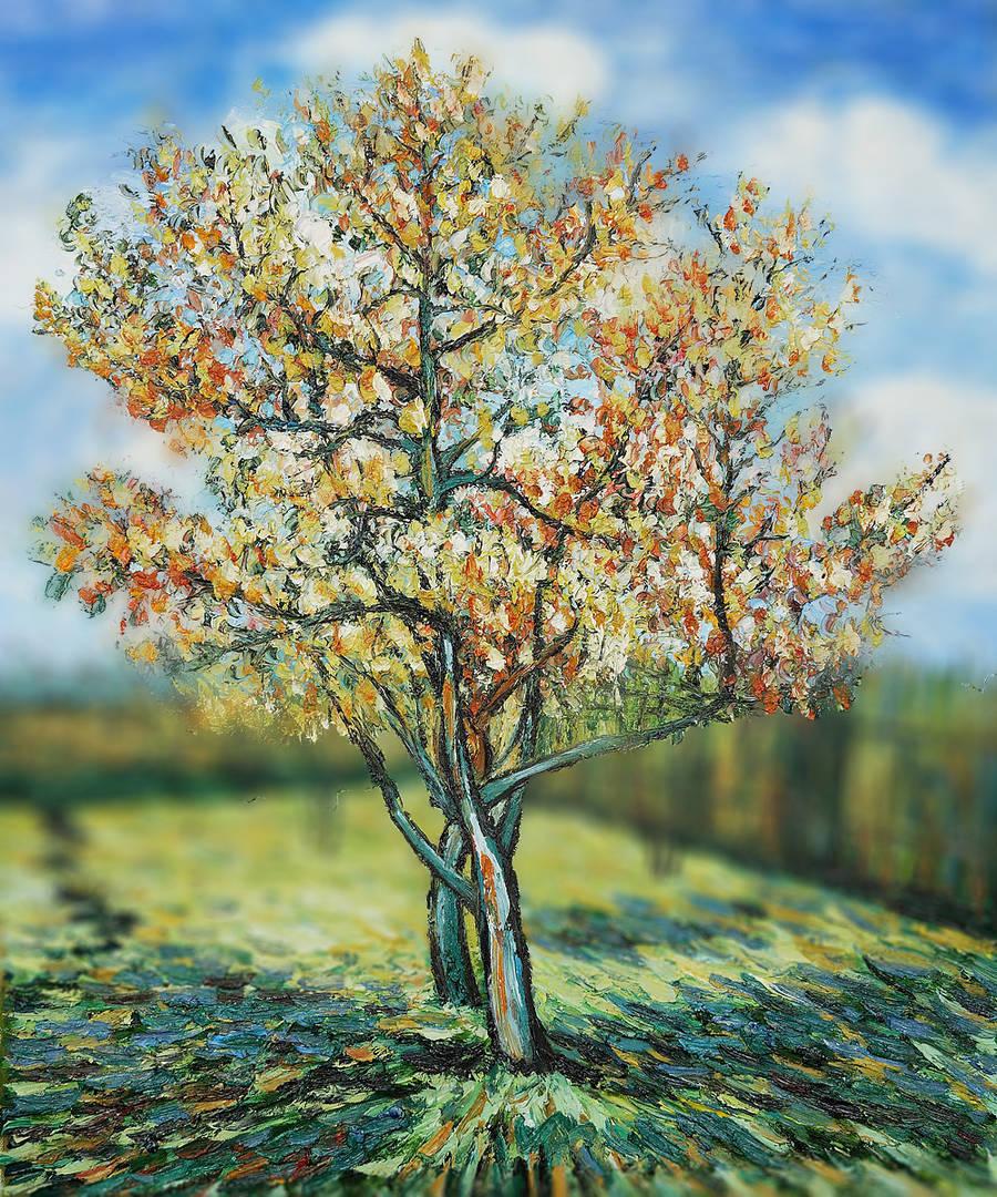 Tilt Shift Van Gogh's Paintings