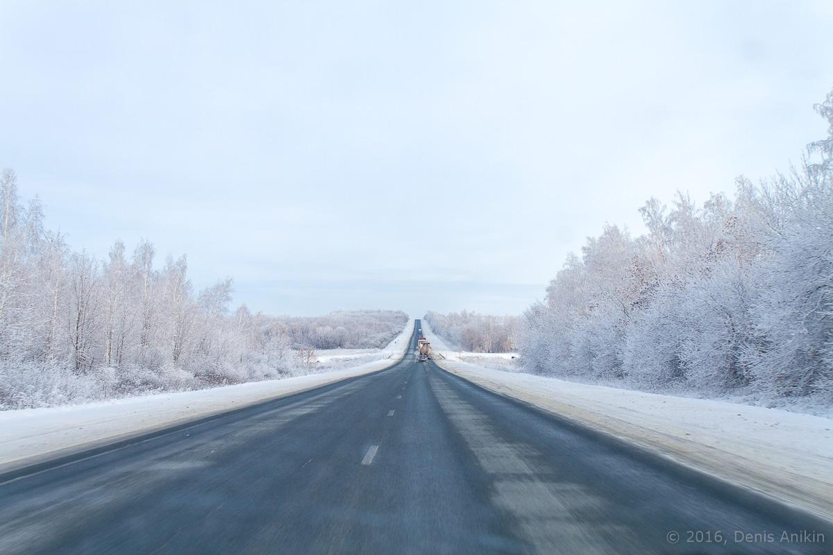 зима дорога фото 6