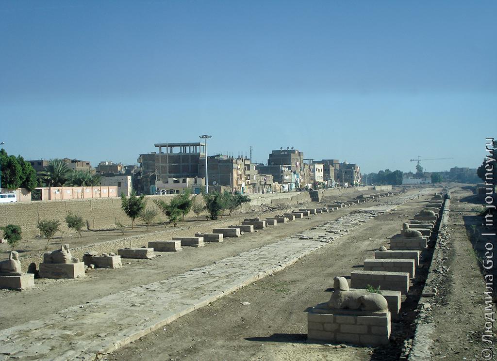Экскурсия в Луксор: раскопки
