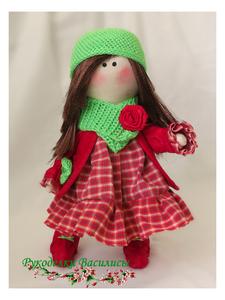 текстильные игрушки, интерьерная кукла, тильда, подарки, рукоделки василисы, ручная работа
