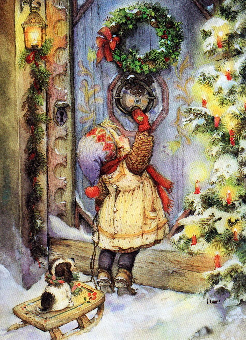 Подборка интересных картин к Рождеству из слоеного теста