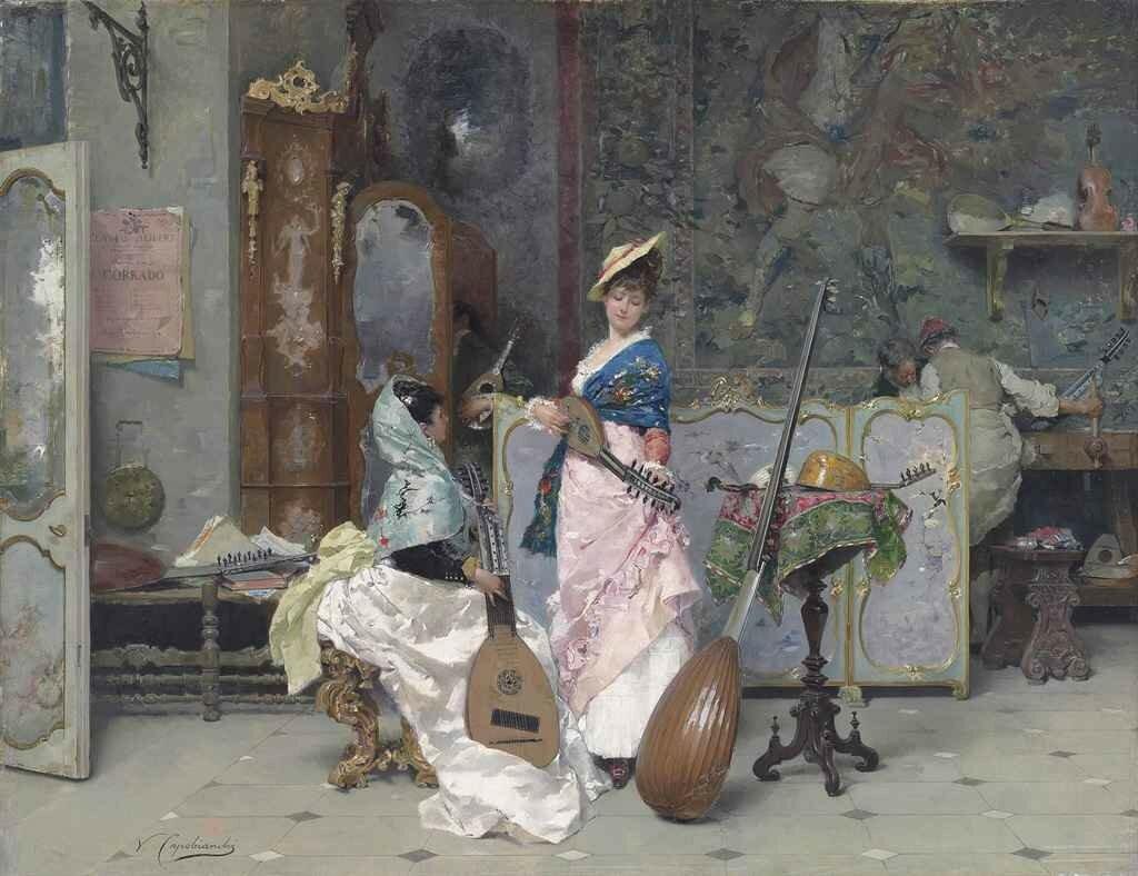 Vincenzo Capobianchi Chez le luthier