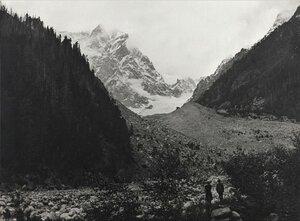 Ледник Чалаади. Сванетия