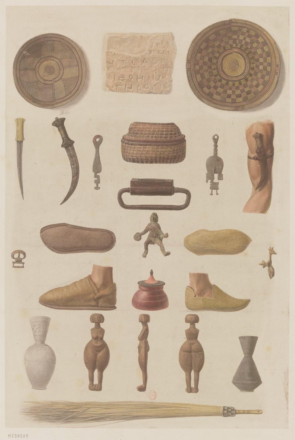 Античная коллекция. Различные объекты