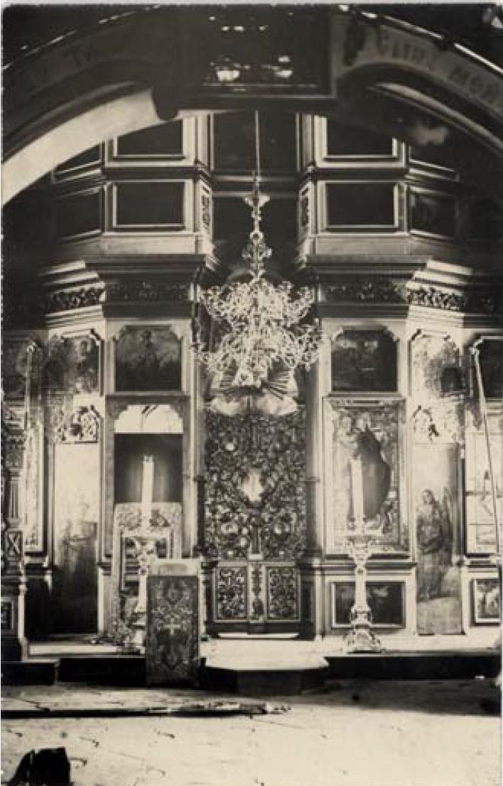 Мироносицкая церковь 1776 г. Иконостас